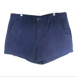 Tradie navy blue cotton shorts size 16